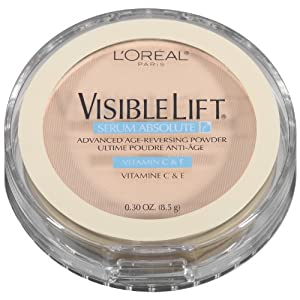L'Oreal Paris Visible Lift Serum Absolute Advanced Age-Reversing Powder, Fair , 0.28 Oz