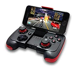 Zebronics Bluetooth Gamepad ZEB-75WG (Black+Red)