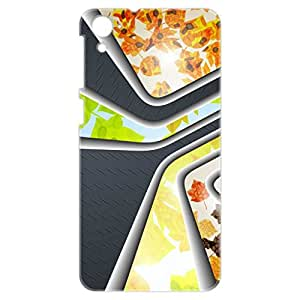 a AND b Designer Printed Mobile Back Cover / Back Case For HTC Desire 826 (HTC_826_3D_1770)