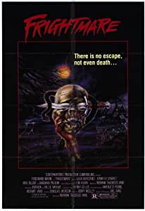 Frightmare Poster Movie 11x17