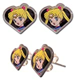 Sailor Moon Sailor Moon Face Earrings