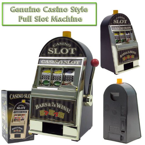 Casino-Style Slot Machine Bank, Model# 10-41240