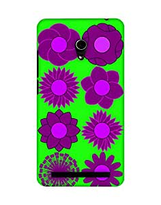 Mobifry Back case cover for Asus Zenfone 6 A600CG Mobile ( Printed design)