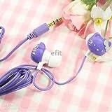 Sanrio Hello Kitty Stereo Earphones- Purple