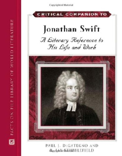 the representation of jonathan swifts life in his literary work Jonathan swift and gulliver's travels which became the passion of his life swift often went to coffee-houses where he shakespeare's literary work the 17th.