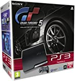 echange, troc Sony PlayStation 3 Slim Console (320 GB Model) with Gran Turismo 5 Collector's Edition [import anglais]
