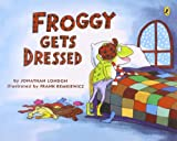 Froggy Gets Dressed (0140544577) by London, Jonathan
