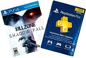 Killzone Shadow Fall Digital Bundle: Game + 1-Year PS Plus - PS4 [Digital Code] by Sony PlayStation Network