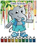 Color Wonder Coloring Books: Jumbo Coloring Book (Kids books Ages 3-8)