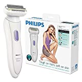 Philips HP6366/02 wet & dry Cordless Rechargeable Ladies Hair Remover Trimmer