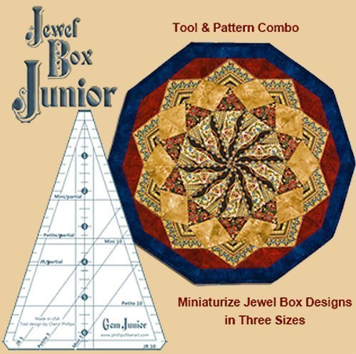 1-x-jewel-box-junior-ruler-gem-junior-gems-5-and-10-combined-in-one-tool-by-phillips-fiber-art