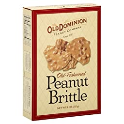Old Dominion Old Fashioned Peanut Brittle, 8-Ounce (Pack of 12)
