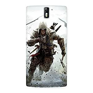 Assasi Multicolor Back Case Cover for One Plus One