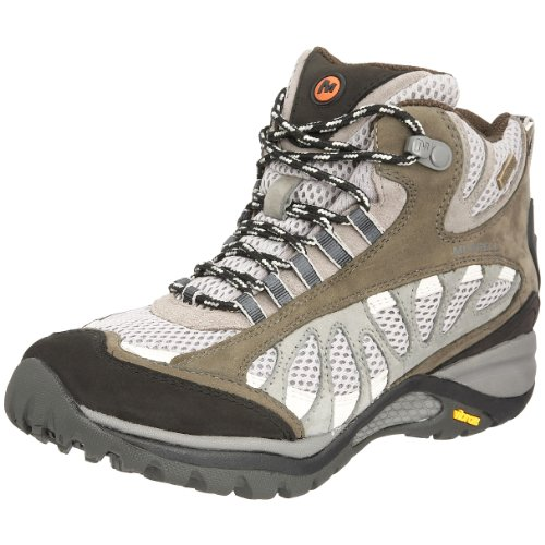 Merrell Women's Siren Ventilator Wtpf Mid Lace Ups Boot Grey/Beluga J514134 4 UK