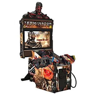Terminator Salvation 42in Shooting Arcade Game