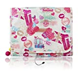 Miss Gorgeous Love Travel Rolling Wash Bag