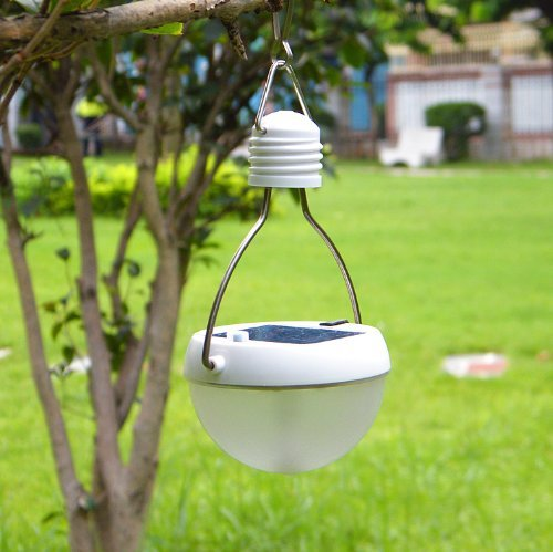 Rechargeable Rainproof Waterproof Hanging Solar Powered Led Lantern Light Bulb Lamp For Camping Hiking Fishing Outdoor Activities