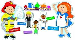Carson Dellosa Community Helpers Bulletin Board Set (110196)