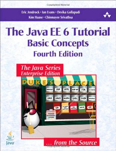 Java EE 6 Tutorial, Volume I