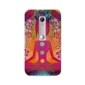 ArtzFolio Yoga Lotus Pose : Motorola Moto G Turbo Edition Matte Polycarbonate ORIGINAL BRANDED Mobile Cell Phone Protective BACK CASE COVER Protector : BEST DESIGNER Hard Shockproof Scratch-Proof Accessories