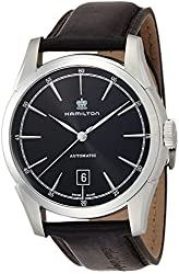 Hamilton Timeless Classic Spirit Of Liberty Automatic Black Dial Mens Watch H42415731