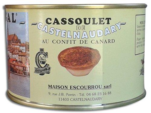 Cassoulet de Castelnaudary 18 % de confit de canard, Maison Escourrou (420 g, 1 personne)