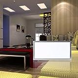 Auralum® 18W 30X60CM LED Deckenleuchte Deckenlampe Panel Lampe Wandleuchte Warmweiß(2800-3200K)