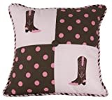 HiEnd Accents Polka Dot Boot Pillow