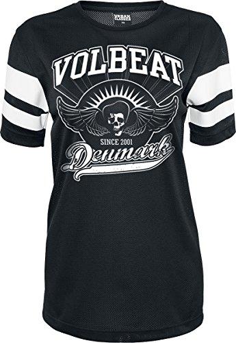 Volbeat Rise From Denmark Maglia donna nero XL