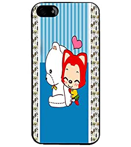 PrintDhaba Cartoon D-3380 Back Case Cover for APPLE IPHONE 4 (Multi-Coloured)