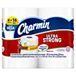 Charmin Ultra Strong Toilet Paper, Me...