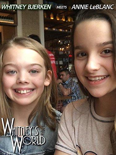 Whtiney Bjerken meets Annie LeBlanc on Amazon Prime Video UK
