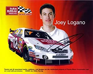 Buy 2010 Joey Logano #20 Gamestop 8X10 SIGNED by Trackside Autographs