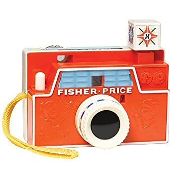 Fisher-Price Picture Disk Camera - The iconic Changeable Picture Disk Camera, originally introduced in 1968, is back for a new generation of children to enjoy. This adorable camera features interchangeable picture disks that are advanced by pressing ...