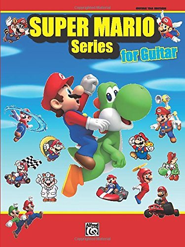 Super Mario Series for Guitar: Guitar TAB by Alfred Publishing Staff (18-Nov-2011) Sheet music