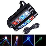 AW 8x10W Spider Moving Head Stage Light RGBW DMX512 Bar Party Disco Outdoor KTV Concert Light