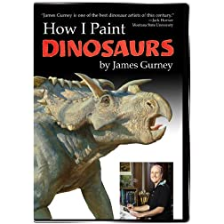 How I Paint Dinosaurs