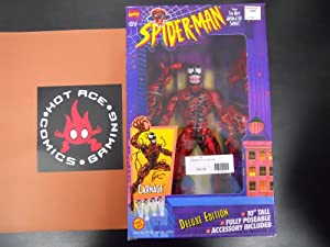 """Marvel Carnage 10"""" Deluxe Edition Figure - Spider-man Animated Series (1994)"""