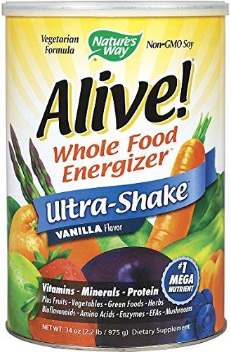 Nature'S Way Alive Soy Ultra Shake Vanilla 2.2 Lb