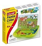 Quercetti FantaColor Educo Steckspiel 400 tlg Bauernhof uvm hergestellt von Quercetti
