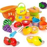 シミュレーション料理おもちゃ12pcs組 /カラーはランダムで分配します/面白いシミュレーション玩具/キッチン用品認知/知育玩具/ 幼児教育/知識を増すおもちゃ雑貨/プラスチック製品/X-kgfp0030