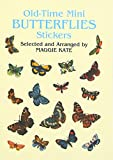 img - for Old-Time Mini Butterflies Stickers (Dover Stickers) book / textbook / text book