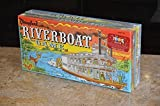 Disneyland RIVERBOAT Game. Parker Brothers, East Longmeadow, MA. Walt Disney Parks and Resorts, Lake Buena Vista, FL. One of a set of four games that includes MONORAIL, RIVERBOAT, FANTASYLAND, and ADVENTURELAND. Sold only at Walt Disney Park in Flori