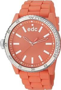 edc by Esprit Damen-Armbanduhr rubber starlet Analog Quarz Plastik EE100922011