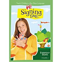 Signing Time Series 1 Vol. 3 - Everyday Signs