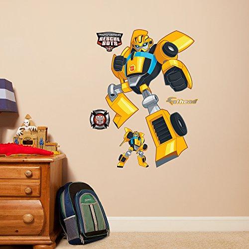 Fathead Transformers Bumblebee Rescue Bots Vinyl Decals