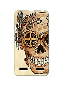 Gobzu Printed Hard Case Back Cover for Lenovo A6000 / Lenovo A6000 Plus - Design_50