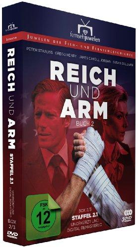 Reich und arm - Box 2/3: Buch 2, Teil 1 (Fernsehjuwelen) [3 DVDs]