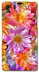 Remarkable multicolor printed protective REBEL mobile back cover for Sony Xperia Z1 C6902/L39h D.No.N-L-18340-S39