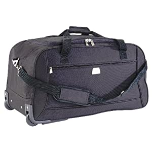 Relic Wheeled Trolley Holdall Black from Holdalls
